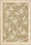 Safavieh Martha Stewart Msr4449a Green - Ivory Area Rug