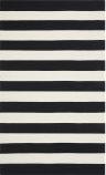 Safavieh Montauk MTK712D Black / White Area Rug