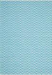 Safavieh Montauk MTK812H Turquoise - Ivory Area Rug