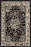 Safavieh Persian Garden Peg605b Black - Ivory Area Rug