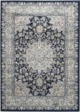 Safavieh Persian Garden Peg605t Navy - Light Blue Area Rug