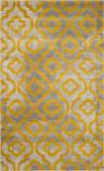 Safavieh Porcello Prl7734 Light Grey - Yellow Area Rug