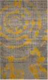 Safavieh Porcello Prl7735 Light Grey - Yellow Area Rug