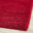 Safavieh California Shag Sg151-4040 Red Area Rug