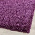 Safavieh California Shag Sg151-7373 Purple Area Rug