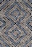 Safavieh Memphis Shag SG834G Grey - Blue Area Rug