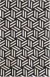 Safavieh Studio Leather Stl219a Ivory - Black Area Rug