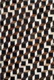 Safavieh Studio Leather Stl511a Brown - Ivory Area Rug