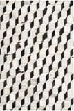 Safavieh Studio Leather Stl513a Black - Grey Area Rug