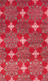 Safavieh Stone Wash Stw243a Red - Ivory Area Rug