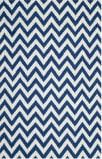 Safavieh Dhurries DHU557K Dark Blue / Ivory Area Rug