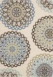 Safavieh Veranda Ver092-615 Cream / Blue Area Rug