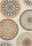 Safavieh Veranda Ver092-715 Cream / Terracotta Area Rug