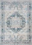 Safavieh Victoria Vic933f Blue - Grey Area Rug