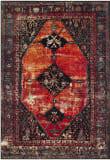 Safavieh Vintage Hamadan VTH217B Orange - Multi Area Rug