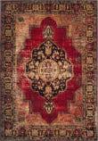 Safavieh Vintage Hamadan VTH219A Red - Multi Area Rug