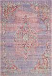 Safavieh Windsor Wds317f Lavender - Fuchsia Area Rug