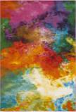 Safavieh Water Color Wtc619d Orange - Green Area Rug