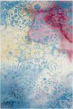 Safavieh Water Color Wtc620g Light Blue - Light Yellow Area Rug