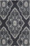 Safavieh Wyndham Wyd372c Dark Grey / Ivory Area Rug