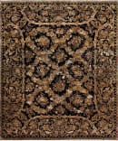 Samad Extravagance Versailles Black - Black Area Rug