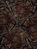 Samad Art Tec Camaflower Black Area Rug