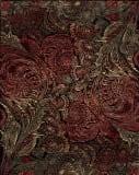 Samad Art Tec Spiral Ofl Black Area Rug