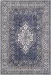 Solo Rugs Transitional S7025-DBLU  Area Rug