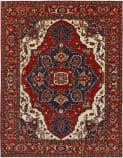 Persian Carpet Classic Revival Heriz AP-15 Red Area Rug