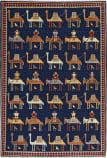 Persian Carpet Classic Revival Verneh AP-31 Navy Area Rug