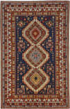Persian Carpet Classic Revival Shirvan AP-35A Navy Area Rug