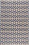Stark Studio Rugs Essentials: Arrows Blue - White