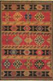 Tibet Rug Company Soumak Kazak Design 2 Area Rug