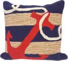 Trans-Ocean Frontporch Pillow Anchor 1400/33 Navy