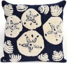 Trans-Ocean Frontporch Pillow Shell Toss 1408/33 Navy Area Rug