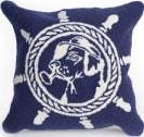 Trans-Ocean Frontporch Pillow Seadog 4332/33 Navy