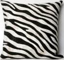 Trans-Ocean Visions I Pillow Zebra 3043/48 Black Area Rug