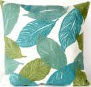 Trans-Ocean Visions I Pillow Mystic Leaf 4051/04 Aqua Area Rug