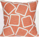 Trans-Ocean Visions I Pillow Squares 4087/17 Coral Area Rug