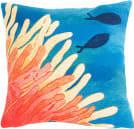 Trans-Ocean Visions III Pillow Reef And Fish 4211/17 Orange