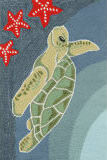 Trans-Ocean Frontporch Sea Turtle 1431/04 Ocean Area Rug