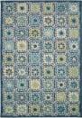 Trans-Ocean Portofino Boho Tiles 7061/04 Aqua Area Rug