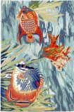 Trans-Ocean Ravella Tropical Fish 2255/04 Ocean Area Rug