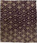 Tufenkian Knotted Deep Purple 8' x 10' Rug