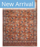 Azad Turkman  Rust Area Rug