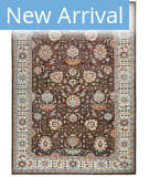 Azad Pakistan  Brown Area Rug