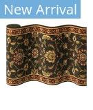 Couristan Royal Luxury Brentwood 1323 Ebony Custom Length Runner