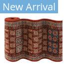 Couristan Timeless Treasures Royal Kazak 4307 Burgundy Custom Length Runner