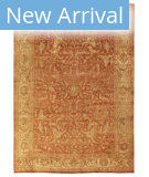 Exquisite Rugs Oushak Hand Woven 9210 Red - Gold Area Rug