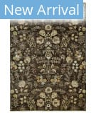 Feizy Luxury GEN-0059 Brown Area Rug